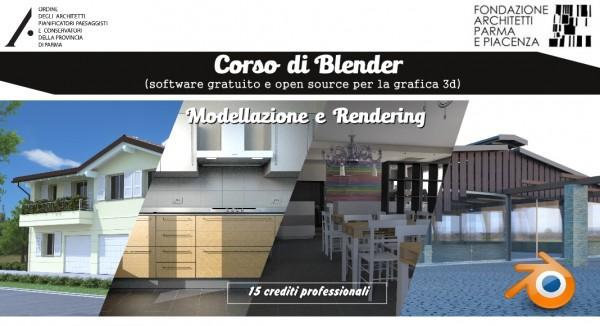 Formazione: Corso di Blender - Modellazione e Rendering