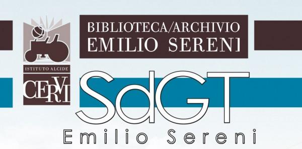 """Scuola di Governo del Territorio """"Emilio Sereni"""""""