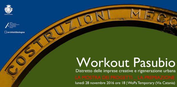 Concorso Workout Pasubio: la mostra dei progetti e la premiazione