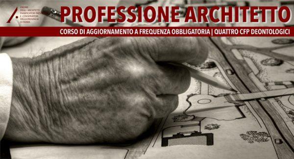 FORMAZIONE DEONTOLOGICA: PROFESSIONE ARCHITETTO