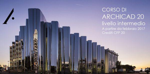 CORSO DI ARCHICAD LIVELLO INTERMEDIO