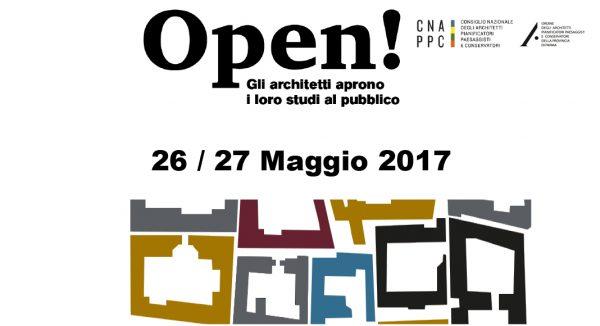 Il 26 e 27 maggio 2017, STUDI APERTI IN TUTTA ITALIA