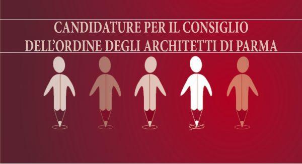Candidature per il Consiglio dell'Ordine degli Architetti di Parma