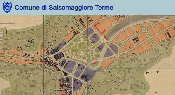 Mostra di Architettura dei progetti per la creazione di un Parco termale - Salsomaggiore Terme