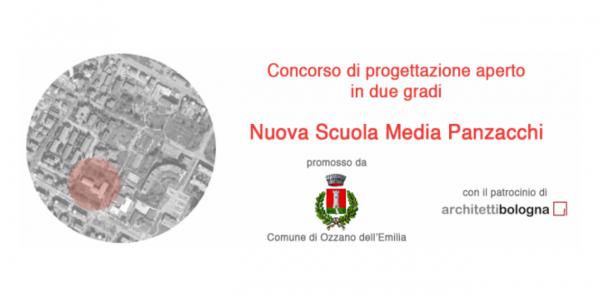 """Concorso di progettazione """"Nuova scuola media Panzacchi"""""""