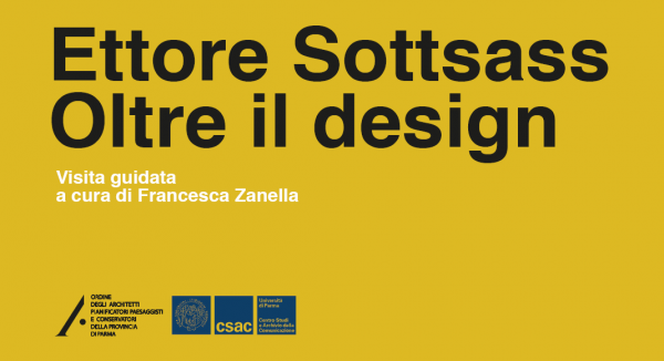 "Visita guidata mostra ""Ettore Sottsass. Oltre il design"""