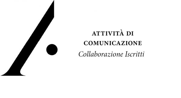 Collaborazione per attività di comunicazione dell'Ordine