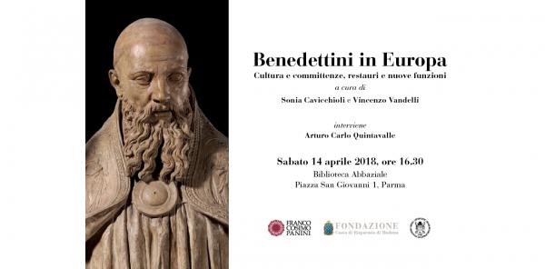 """Presentazione volume """"Benedettini in Europa. Cultura e committenze"""""""
