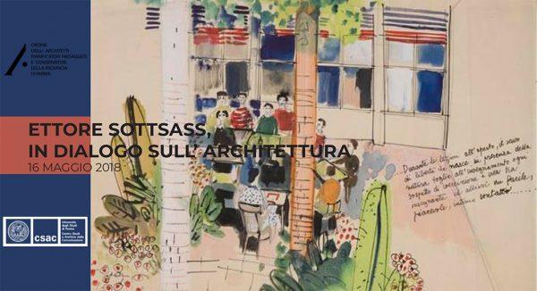 Ettore Sottsass, in dialogo sull'architettura