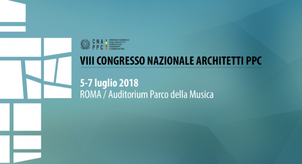 Si è chiuso a Roma l'VIII Congresso Nazionale degli Architetti Italiani.Gli architetti approvano e promulgano il Manifesto