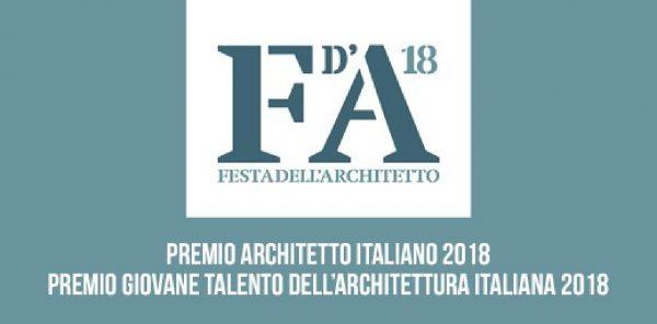 CNAPPC: Premi architetto dell'anno e giovane talento 2018