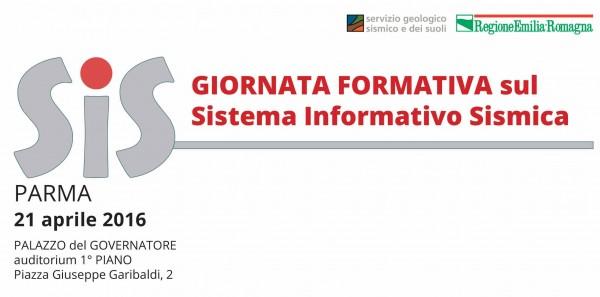 SIS: giornata formativa sul Sistema Informativo Sismica (sessione mattino)