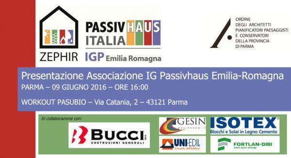 Presentazione Associazione IG Passivhaus Emilia-Romagna