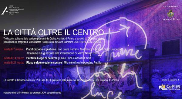 """""""La città oltre il centro"""": tre incontri sul tema delle periferie"""