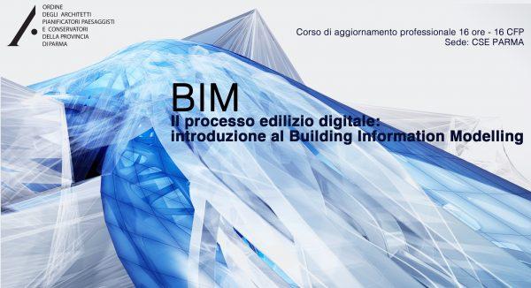 BIM – Il processo edilizio digitale: introduzione al Building Information Modelling