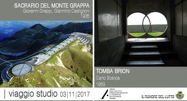 VIAGGIO STUDIO: IL SACRARIO DEL MONTE GRAPPA - TOMBA BRION