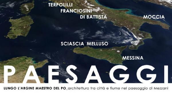 """Ciclo di conferenza """"Lungo l'argine maestro del Po. Architettura tra città e fiume nel paesaggio di Mezzani"""""""
