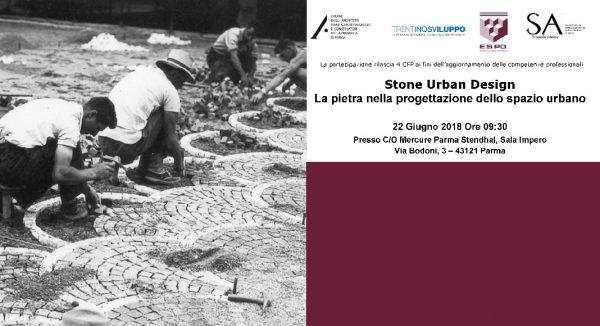 STONE URBAN DESIGN: La pietra nella progettazione dello spazio urbano