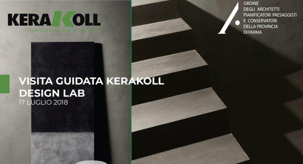 Incontro tecnico: Visita Kerakoll DesignLab