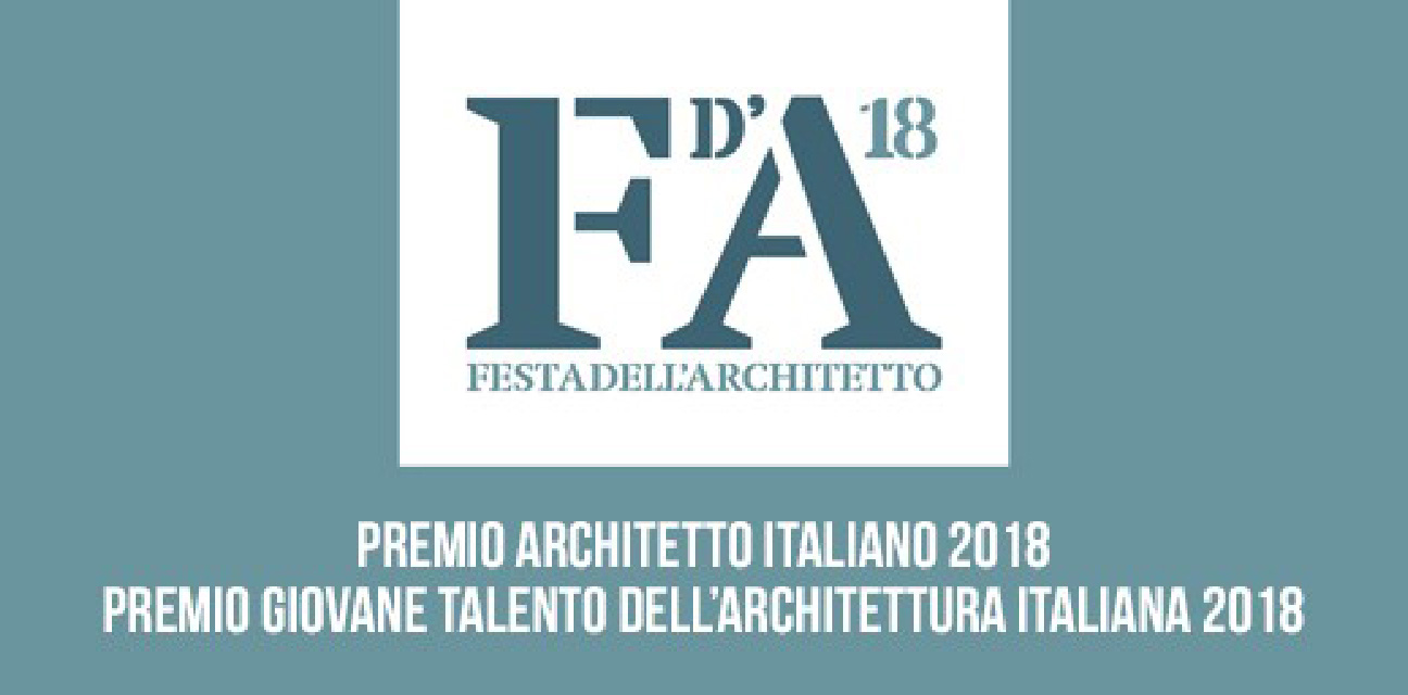 """Festa dell'Architetto 2018: """"Una Comunità per l'Architettura"""""""