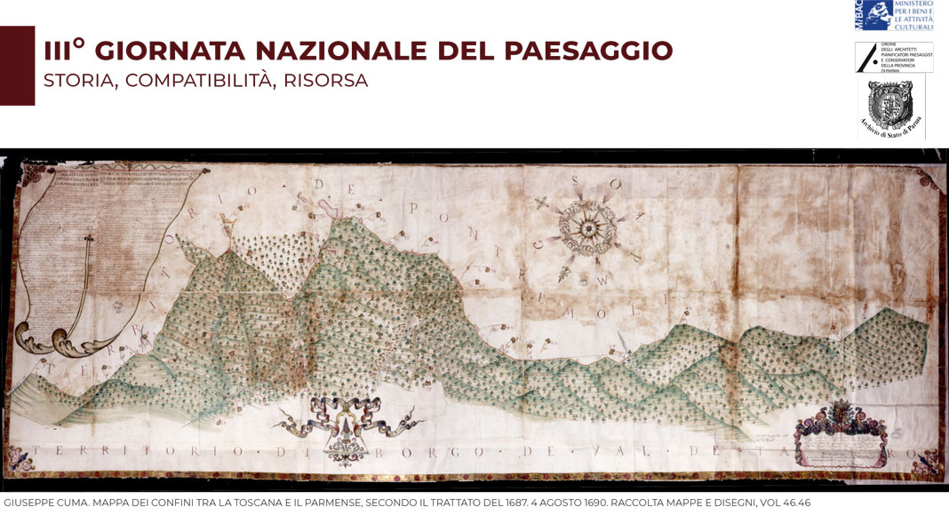Formazione: III Giornata nazionale del Paesaggio - Storia, compatibilità, risorsa