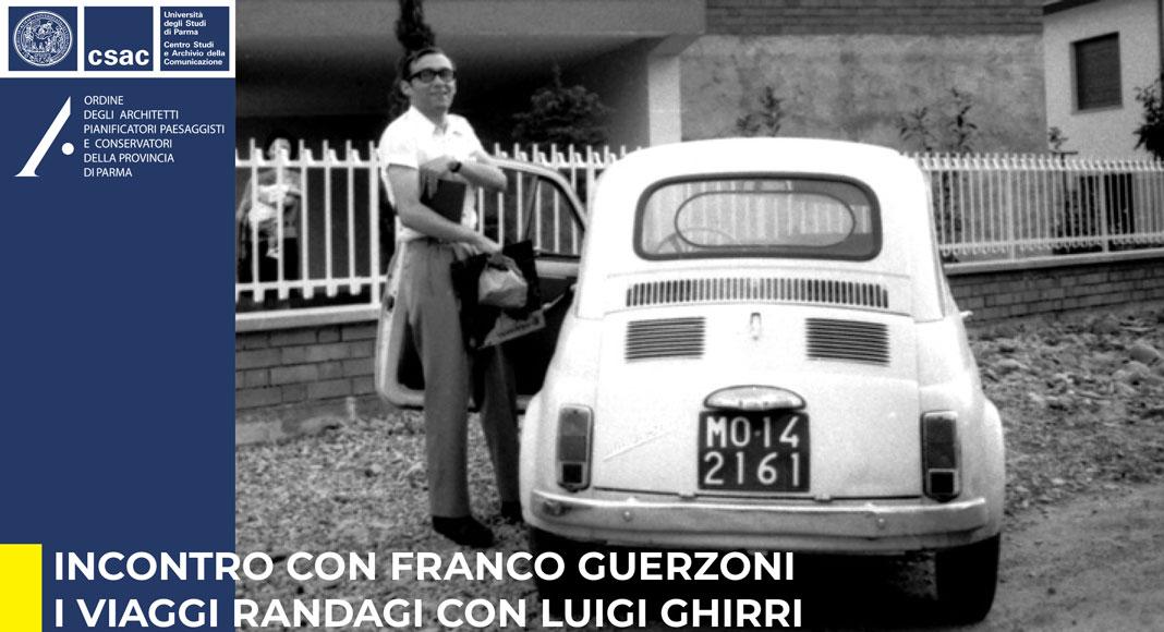 Formazione: Incontro con Franco Guerzoni  i viaggi randagi con Luigi Ghirri