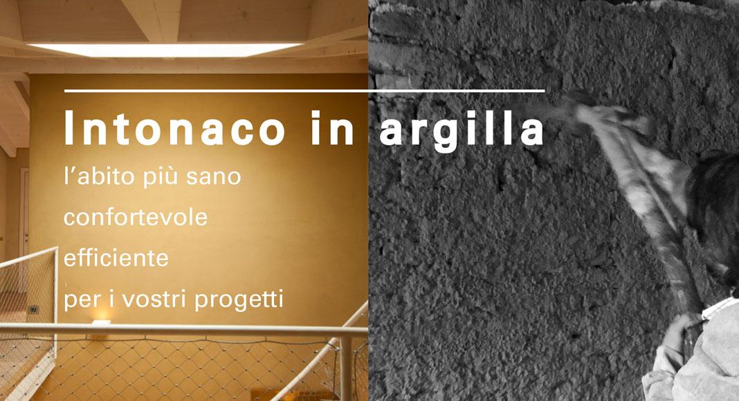 Formazione: Intonaco in argilla - l'abito più sano, confortevole, efficiente, per i vostri progetti
